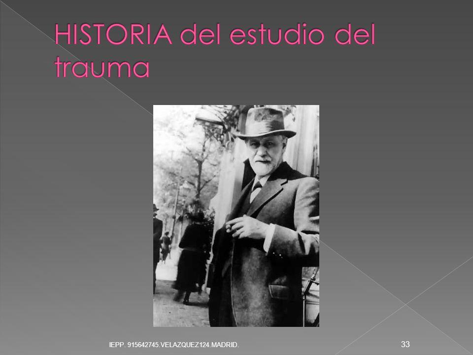 HISTORIA del estudio del trauma