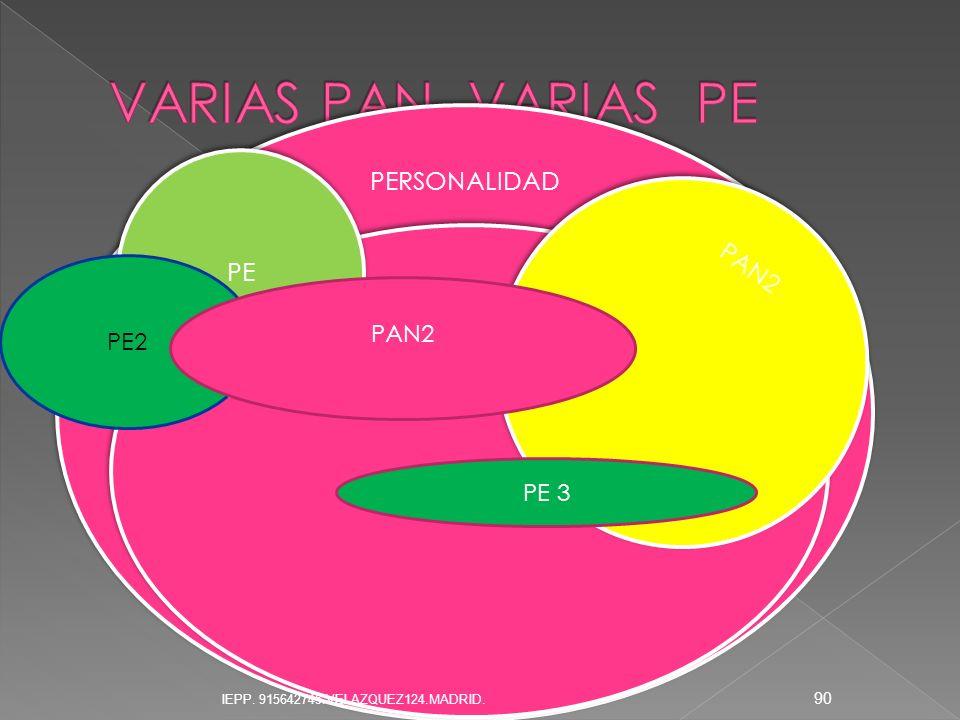 VARIAS PAN VARIAS PE PE2 PAN2 PE 3