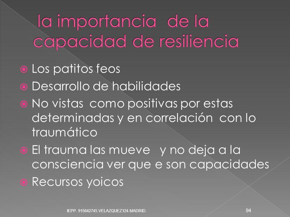 la importancia de la capacidad de resiliencia
