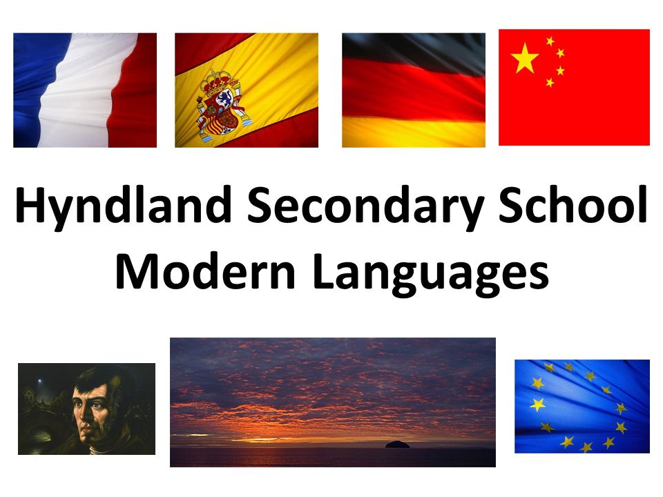 Hyndland Secondary School Modern Languages