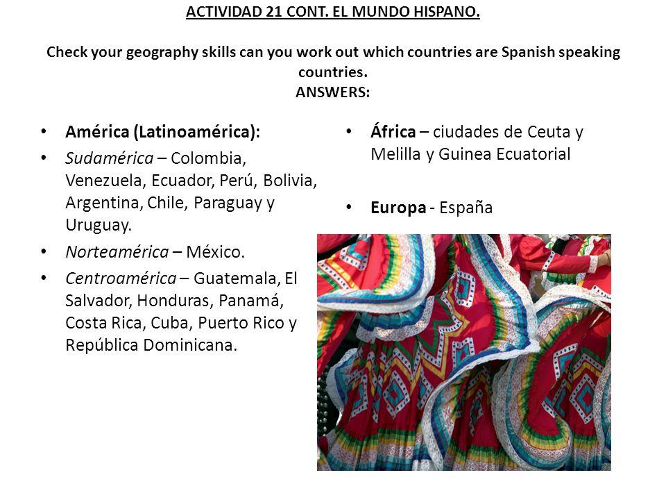 América (Latinoamérica):