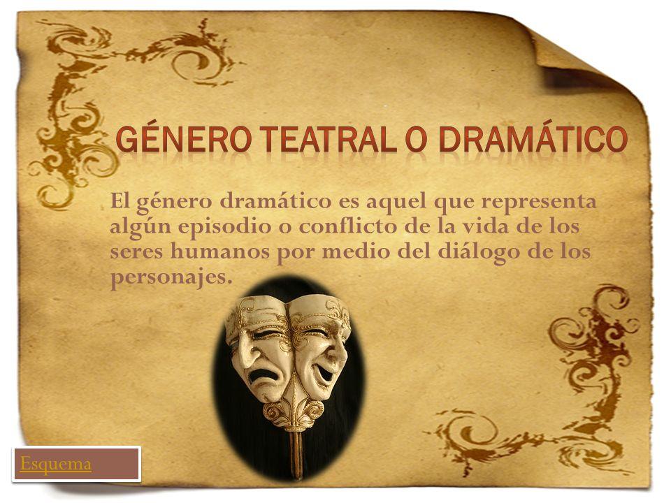 Género teatral o dramático