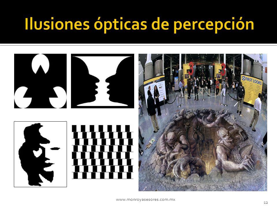 Ilusiones ópticas de percepción