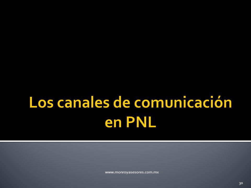 Los canales de comunicación en PNL