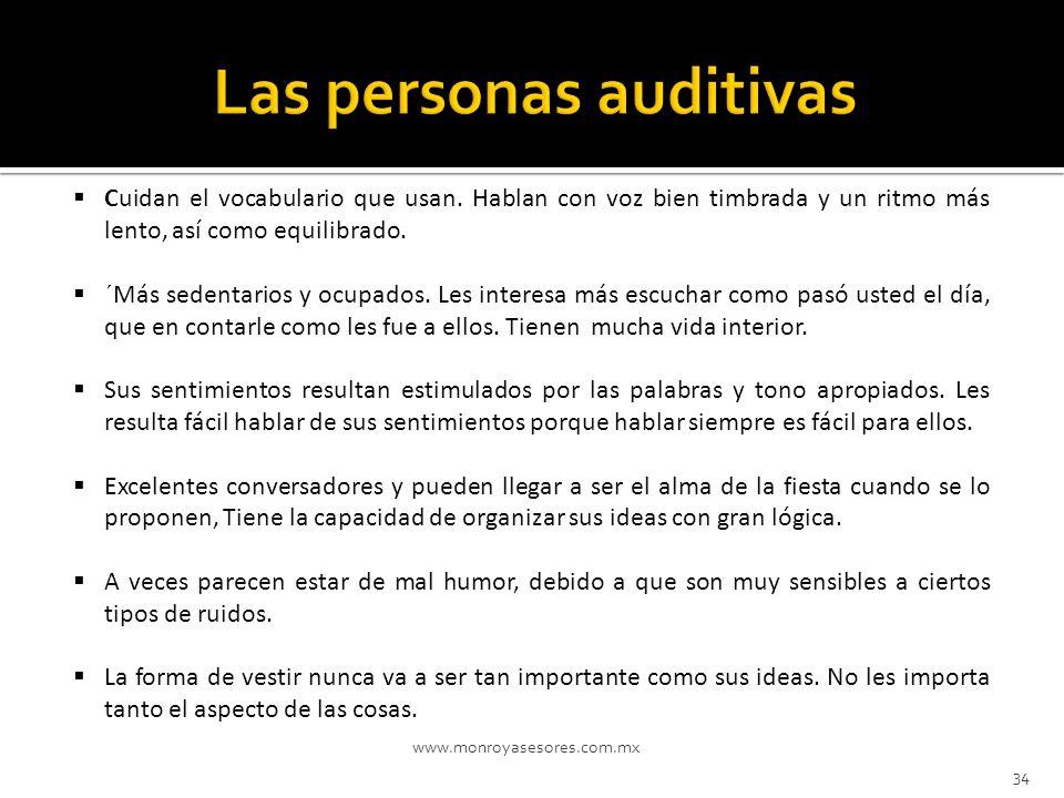 Las personas auditivas