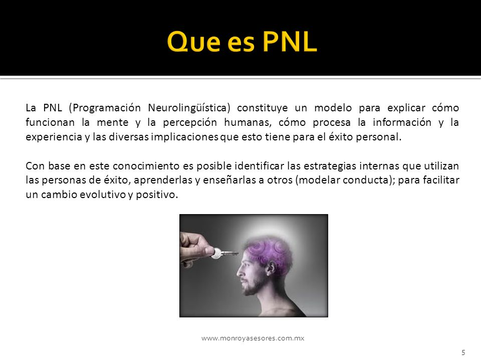 Que es PNL