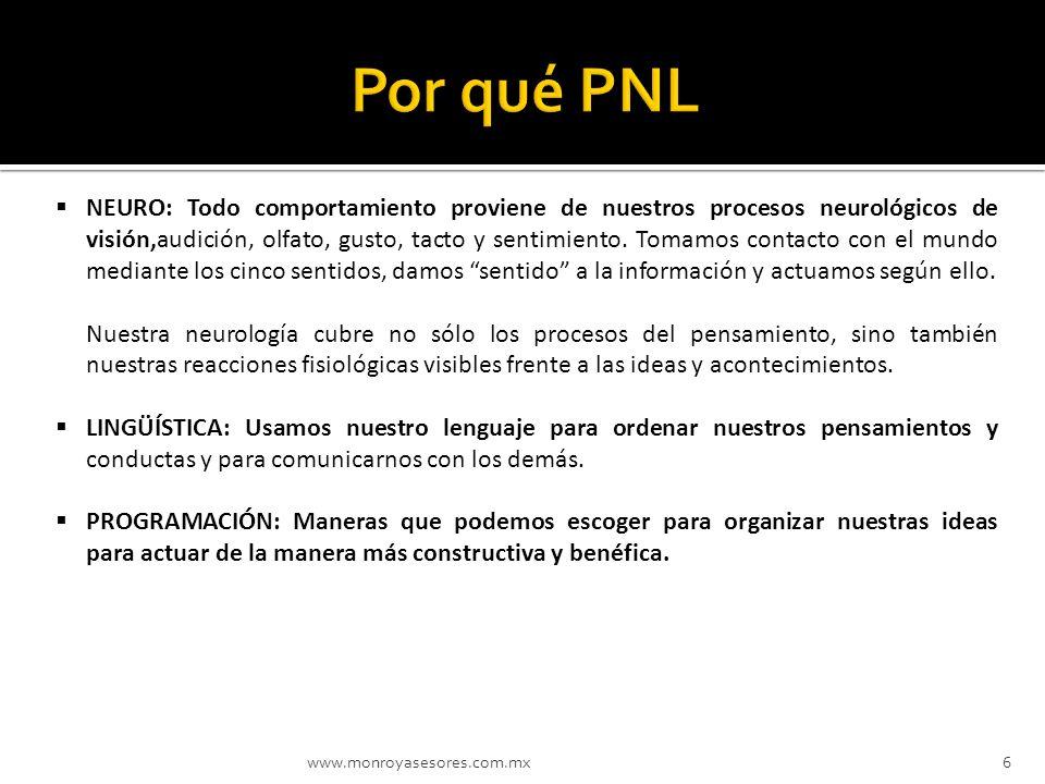 Por qué PNL