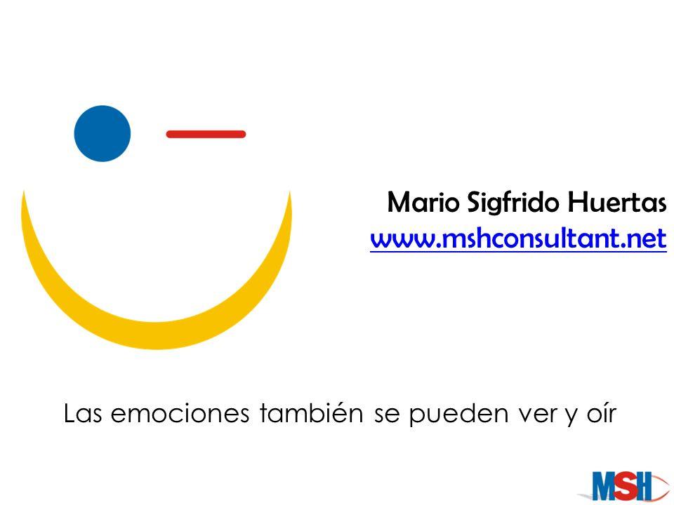 Las emociones también se pueden ver y oír
