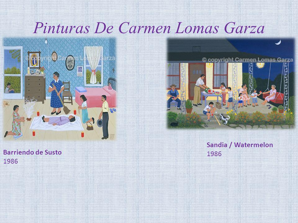 Pinturas De Carmen Lomas Garza