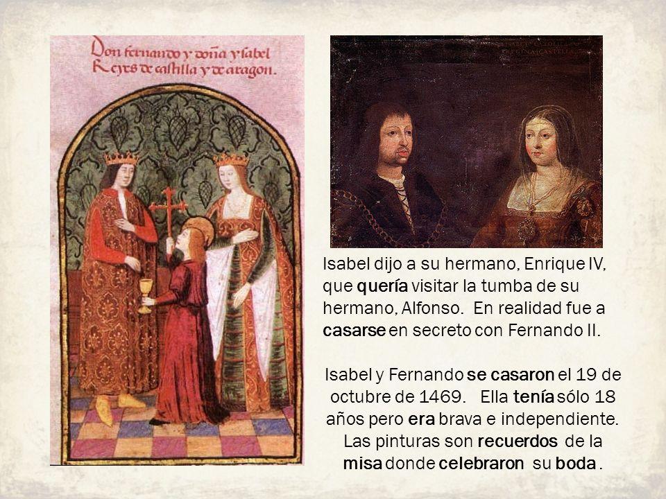 Las pinturas son recuerdos de la misa donde celebraron su boda .
