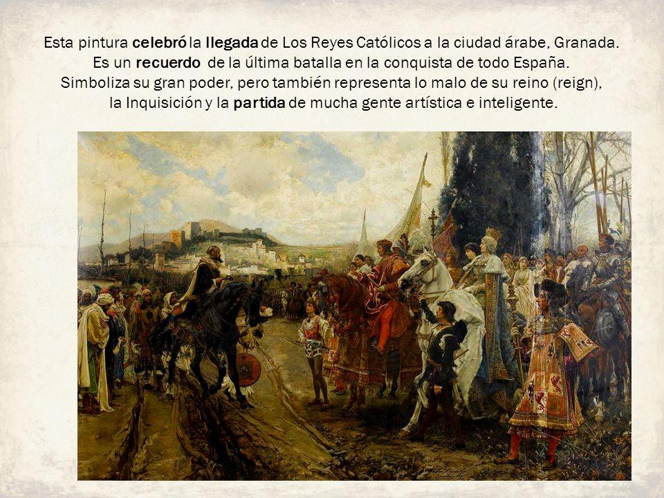 Es un recuerdo de la última batalla en la conquista de todo España.
