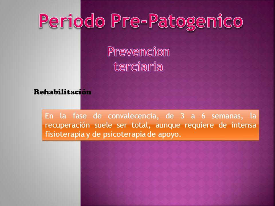 Periodo Pre-Patogenico