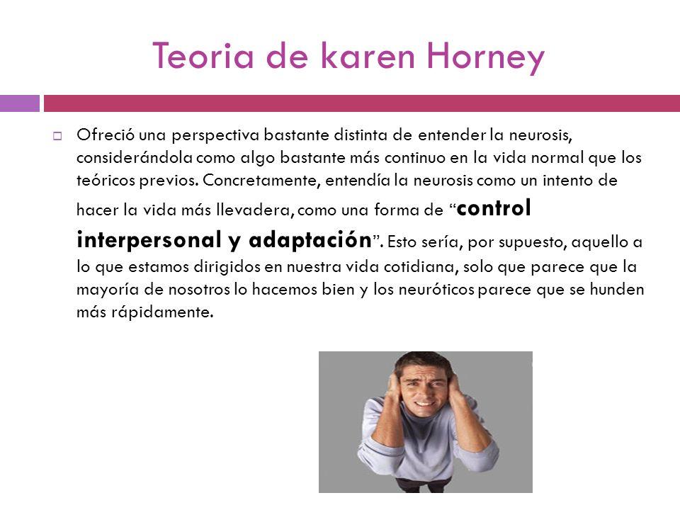 Teoria de karen Horney
