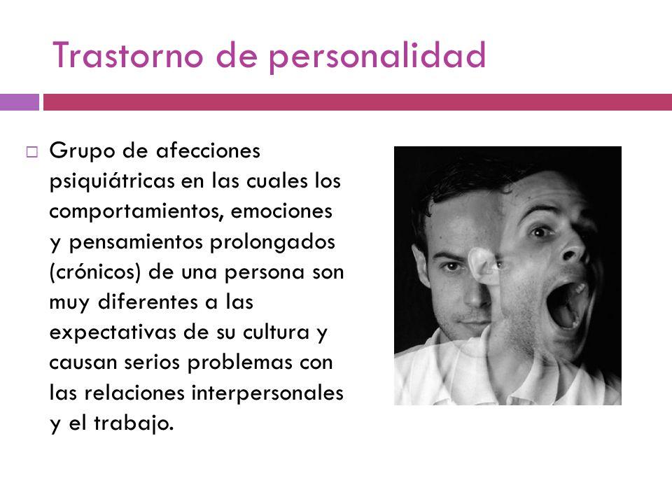 Trastorno de personalidad