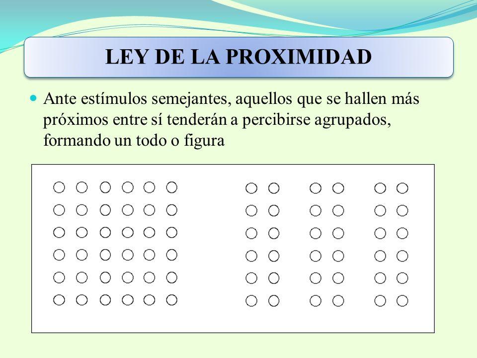 LEY DE LA PROXIMIDAD