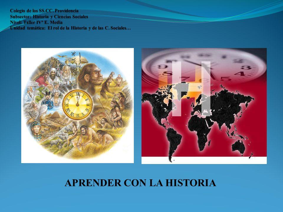 APRENDER CON LA HISTORIA