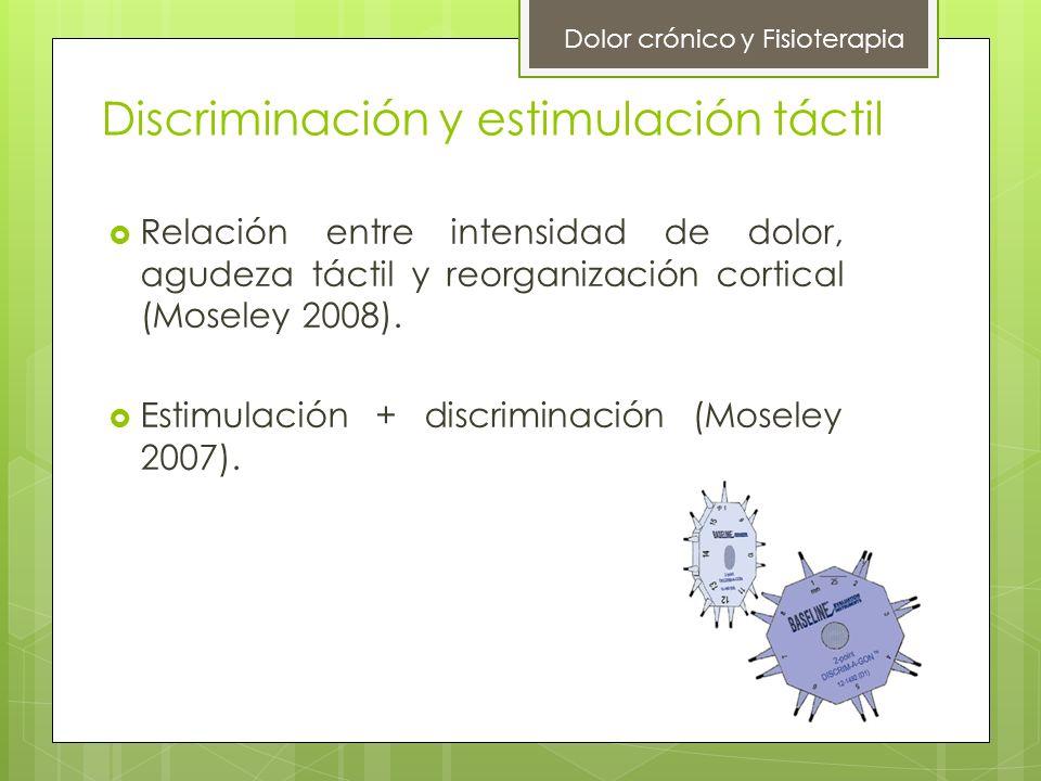 Discriminación y estimulación táctil