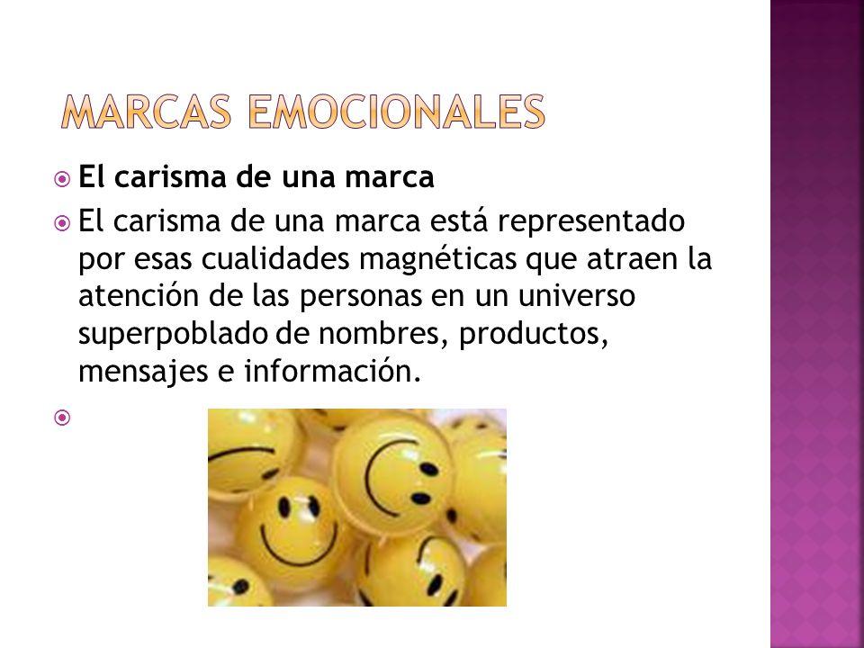 marcas emocionales El carisma de una marca