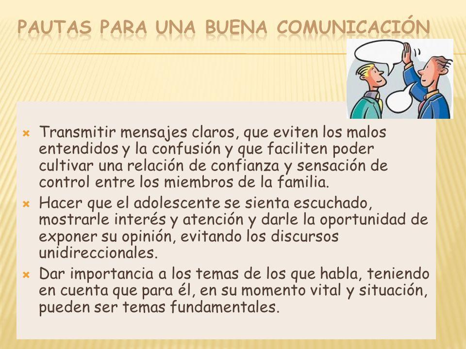 Pautas para una buena comunicación
