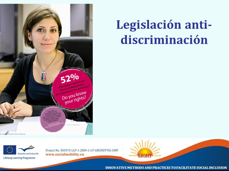 Legislación anti-discriminación