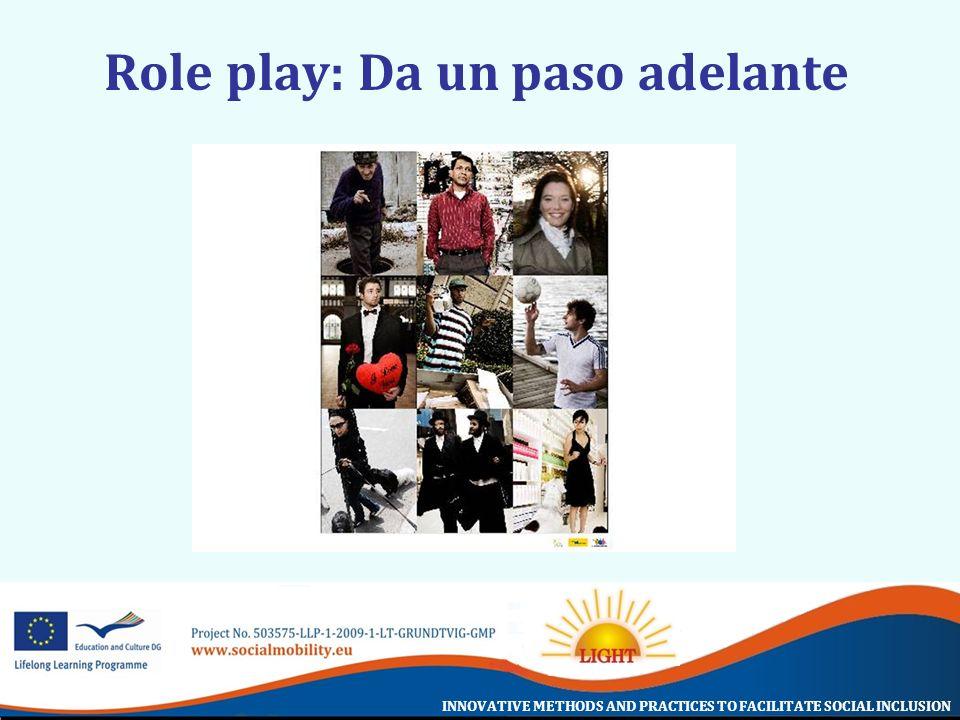 Role play: Da un paso adelante