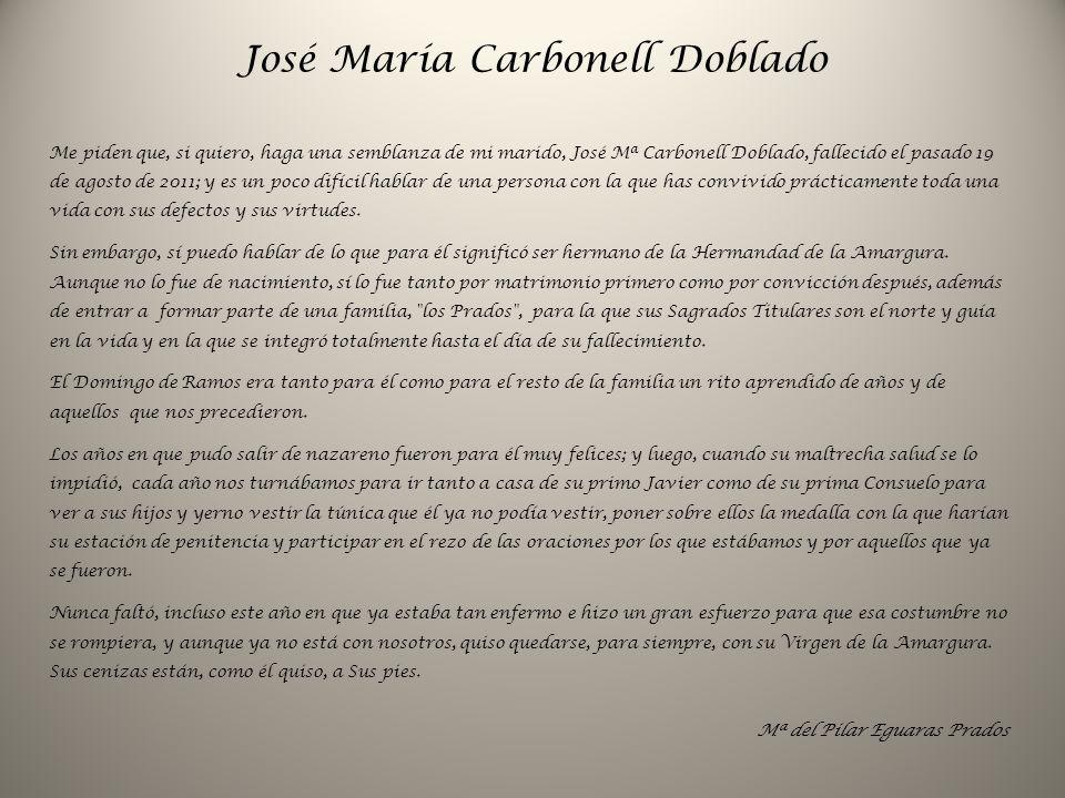 José María Carbonell Doblado