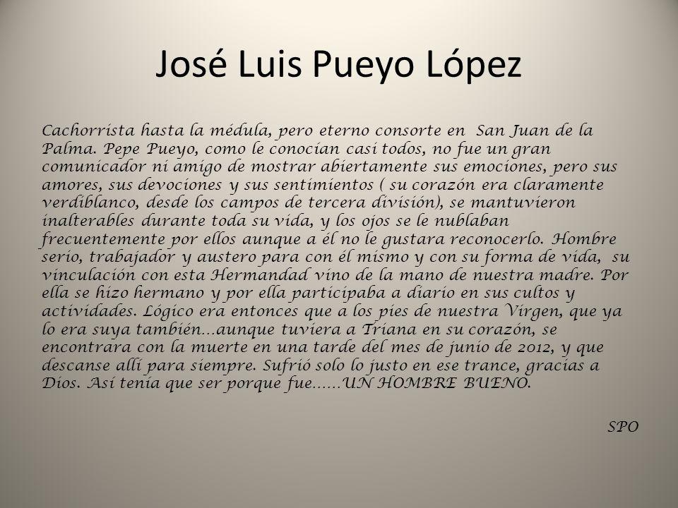 José Luis Pueyo López