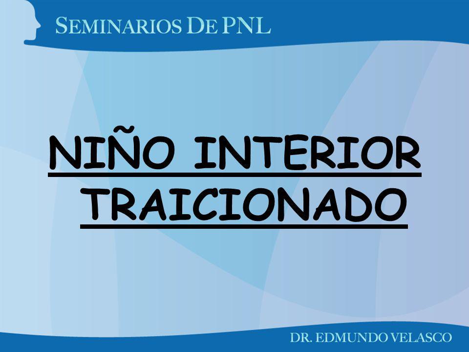 NIÑO INTERIOR TRAICIONADO