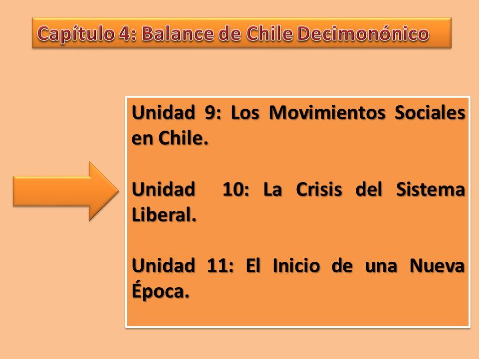 Capítulo 4: Balance de Chile Decimonónico