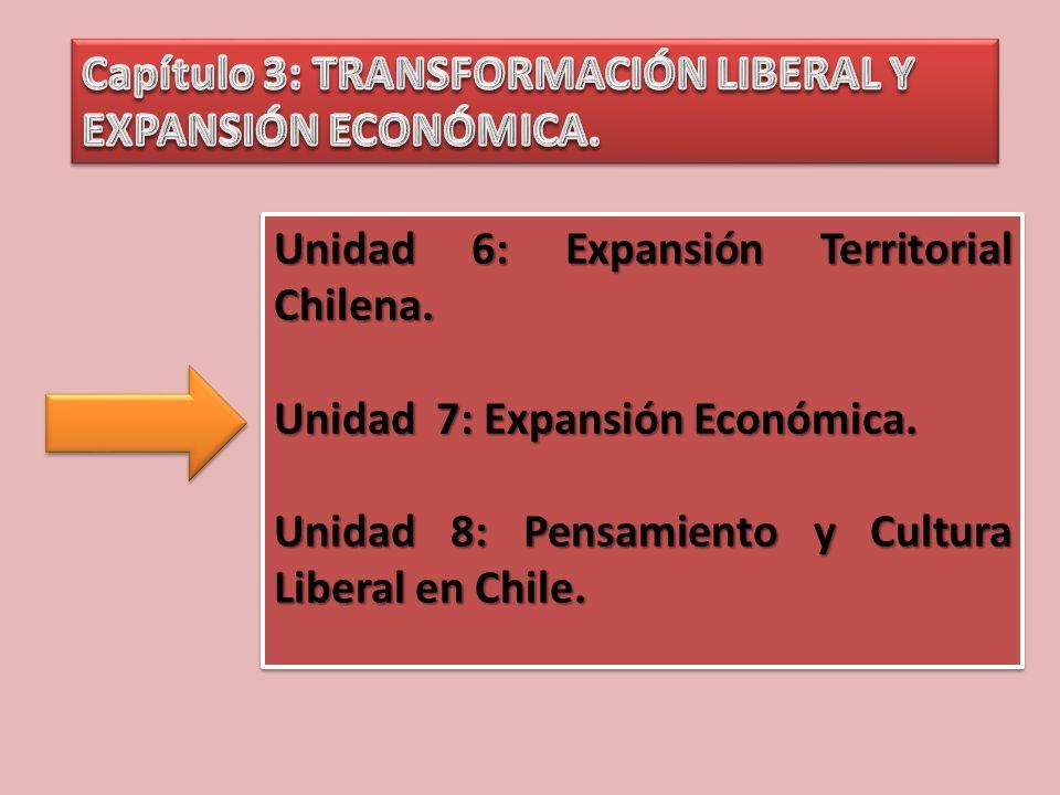 Capítulo 3: TRANSFORMACIÓN LIBERAL Y EXPANSIÓN ECONÓMICA.