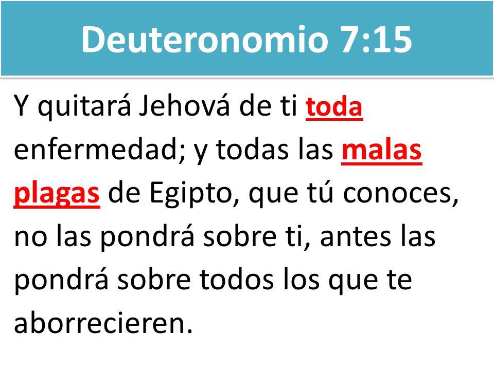 Deuteronomio 7:15