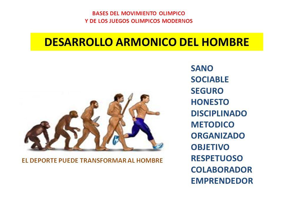 DESARROLLO ARMONICO DEL HOMBRE