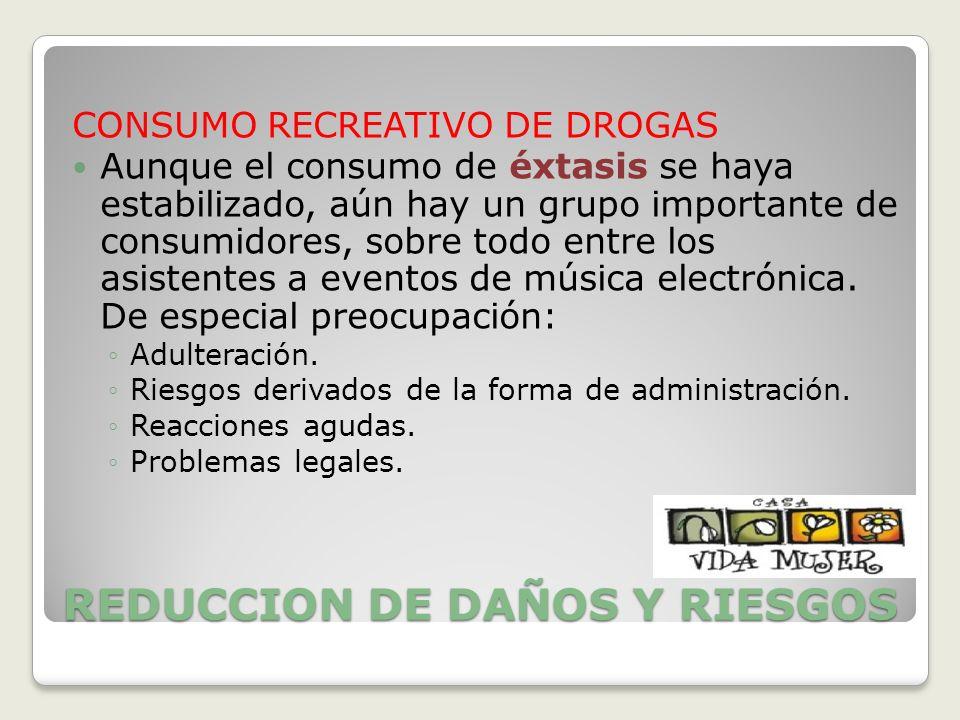 REDUCCION DE DAÑOS Y RIESGOS
