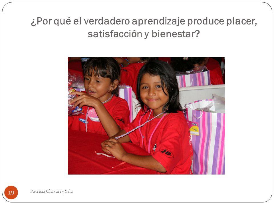 ¿Por qué el verdadero aprendizaje produce placer, satisfacción y bienestar