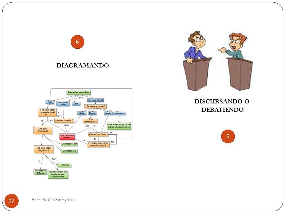 DIAGRAMANDO DISCURSANDO O DEBATIENDO