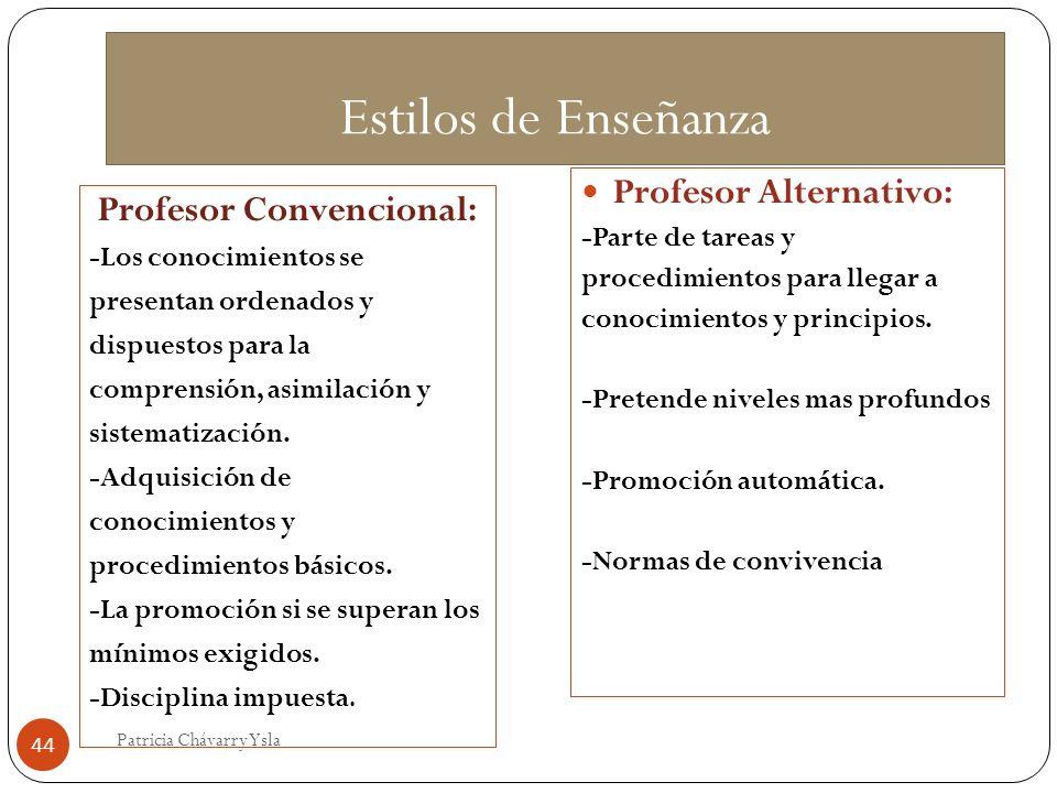 Profesor Convencional: