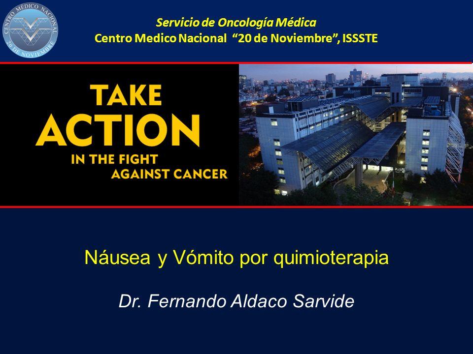 Náusea y Vómito por quimioterapia