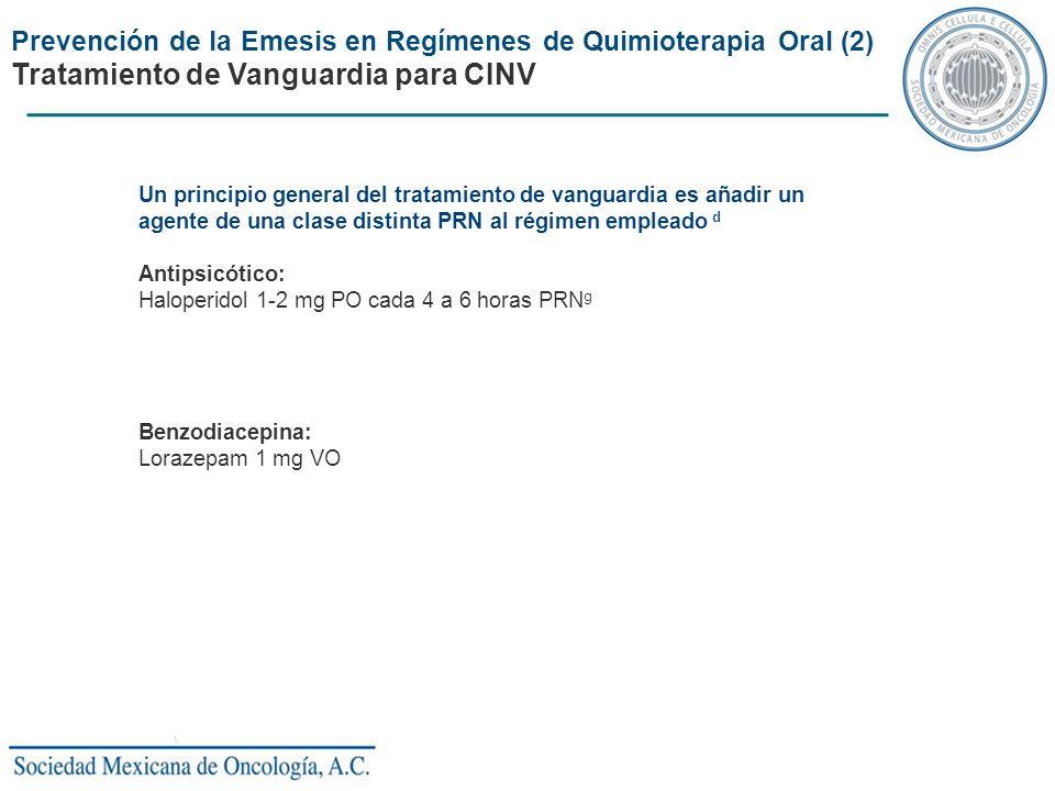 Tratamiento de Vanguardia para CINV