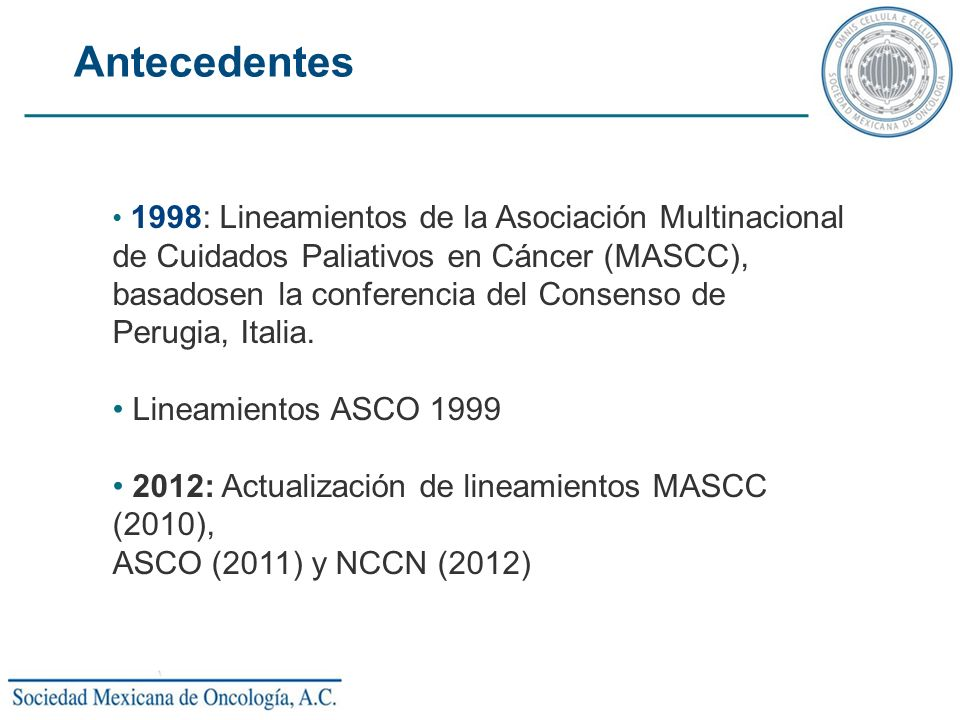 Antecedentes 1998: Lineamientos de la Asociación Multinacional.