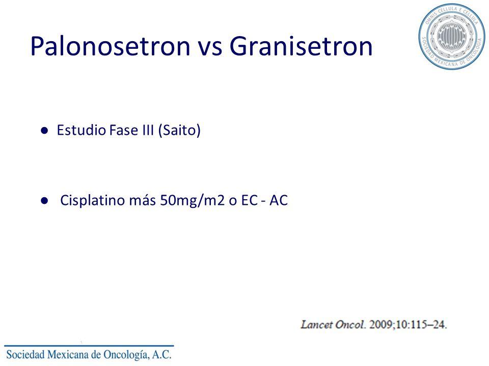 Palonosetron vs Granisetron