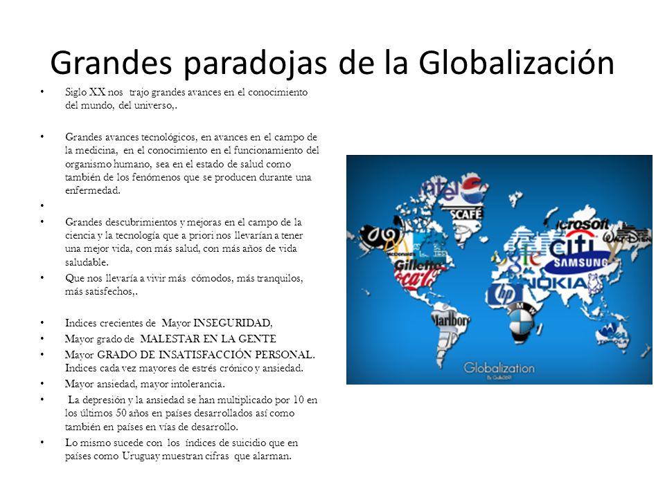 Grandes paradojas de la Globalización