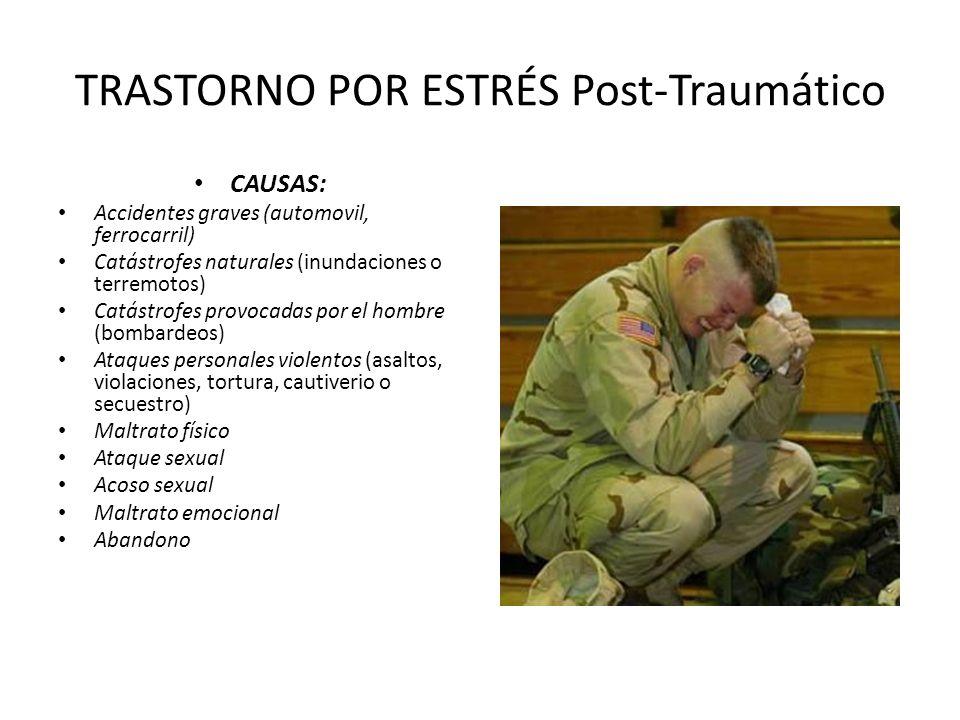 TRASTORNO POR ESTRÉS Post-Traumático