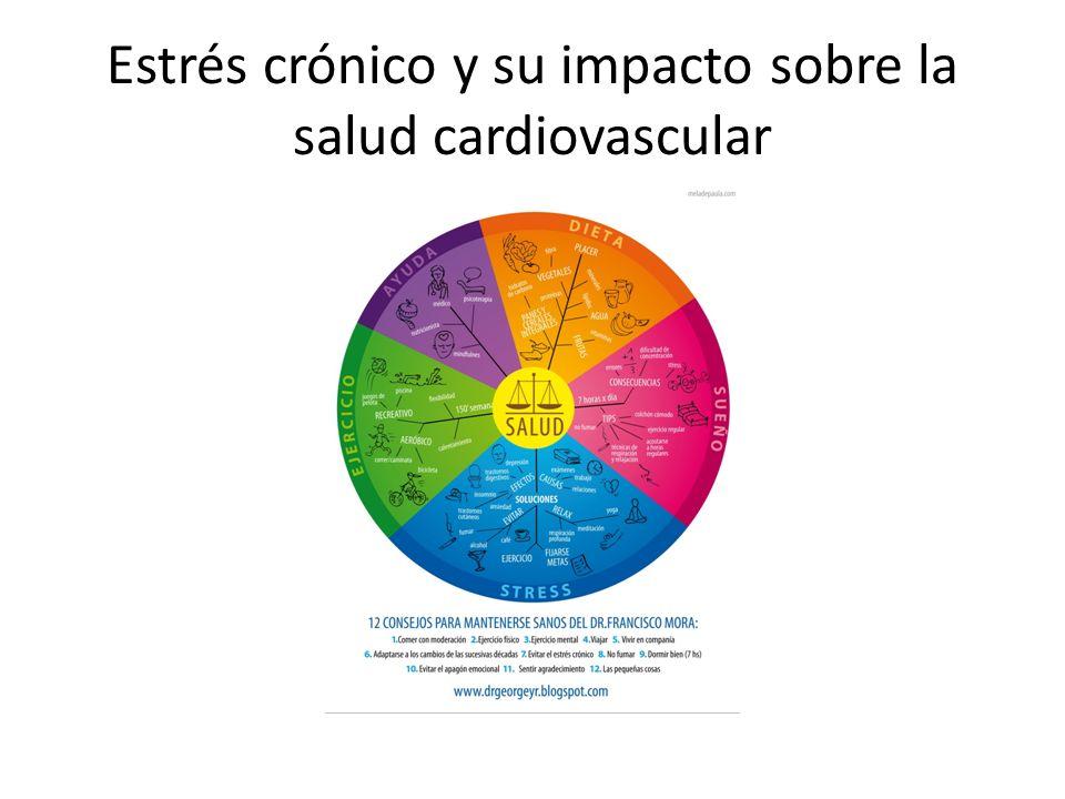 Estrés crónico y su impacto sobre la salud cardiovascular