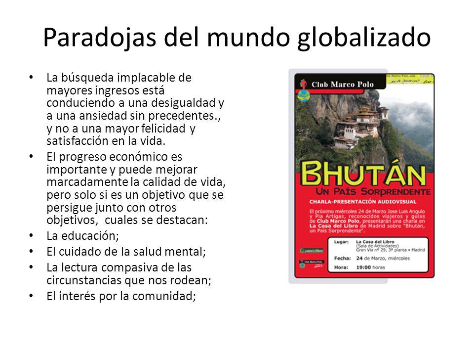 Paradojas del mundo globalizado
