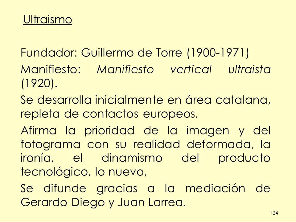 Fundador: Guillermo de Torre (1900-1971)