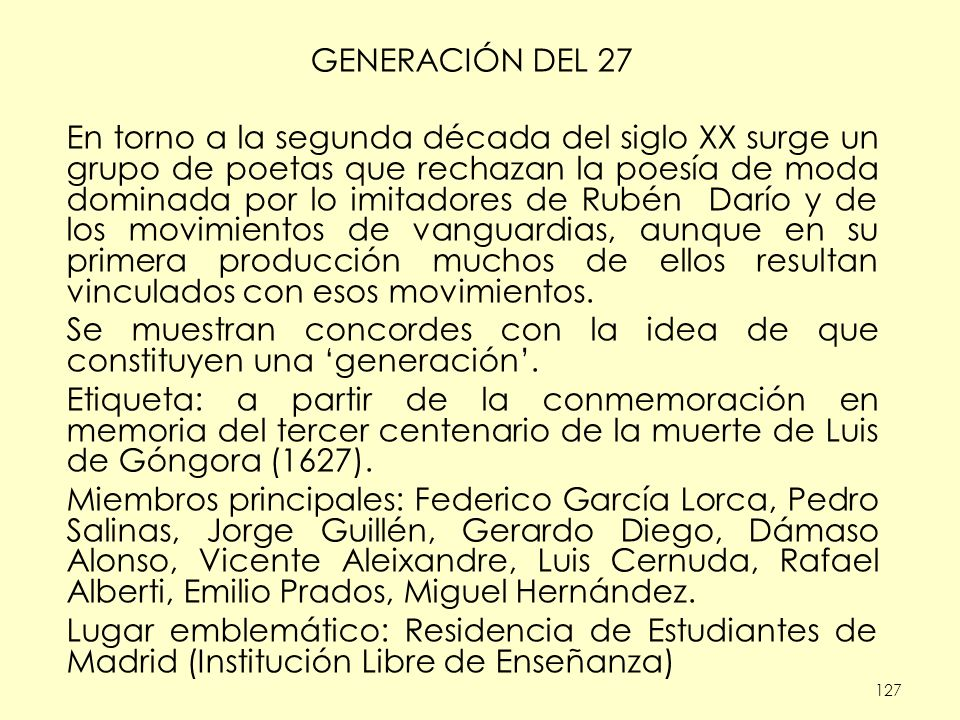 Se muestran concordes con la idea de que constituyen una 'generación'.