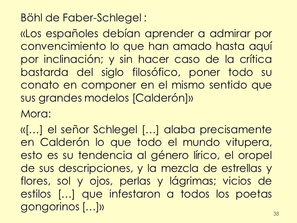 Böhl de Faber-Schlegel :