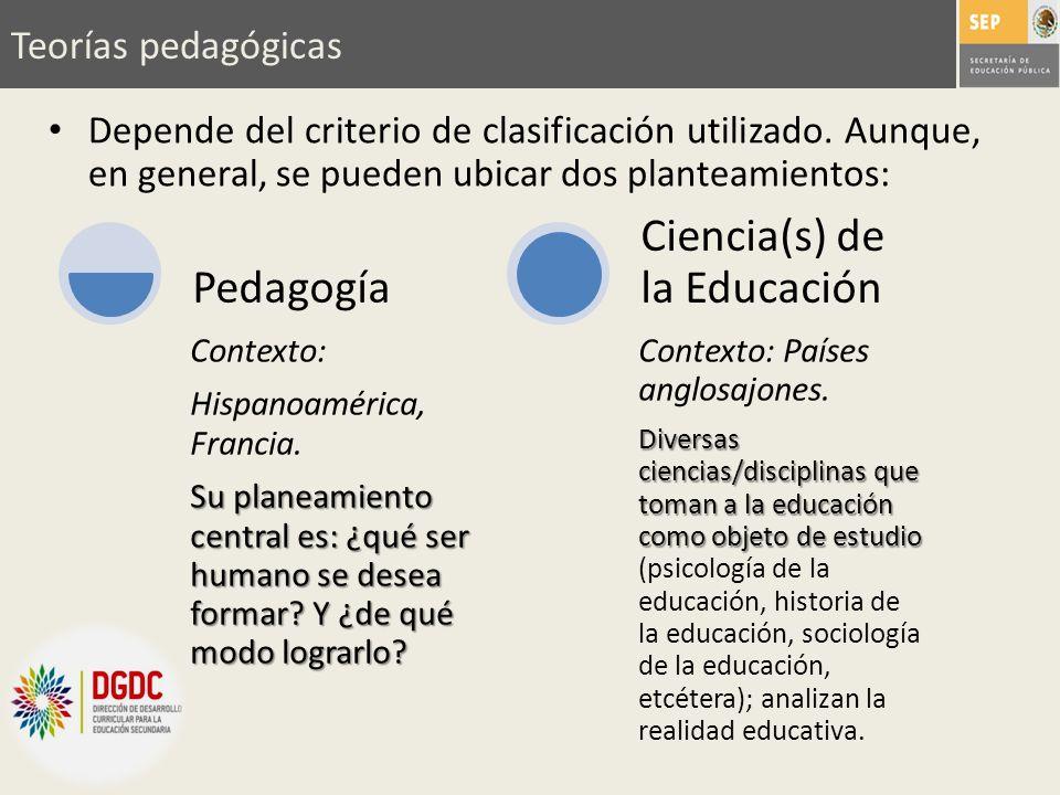 Ciencia(s) de la Educación