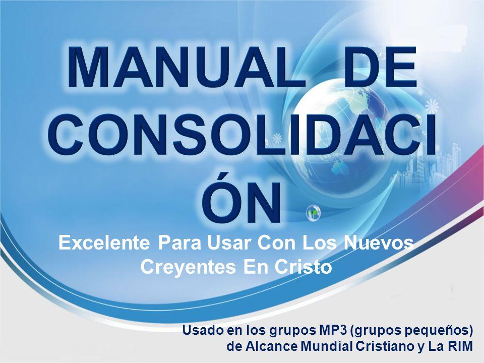 MANUAL DE CONSOLIDACIÓN