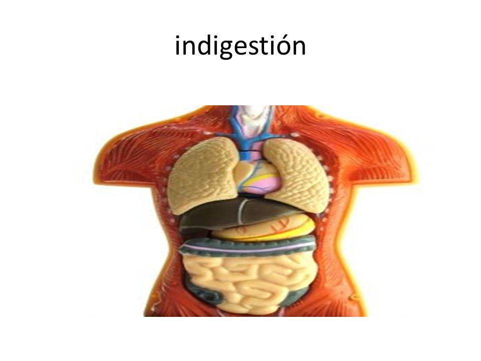 indigestión